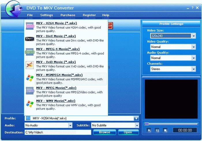 EZtoo DVD To MKV Converter