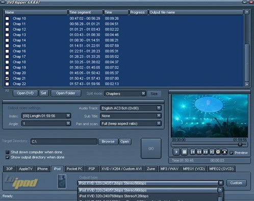 Andromeda Hyper DVD media Ripper