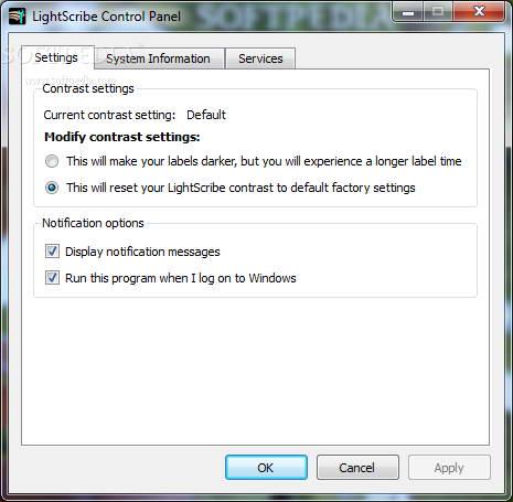 LightScribe System Software