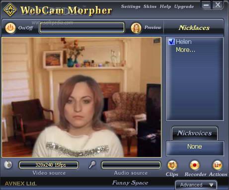 AV Webcam Morpher Pro