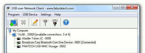 USB Over Network Server