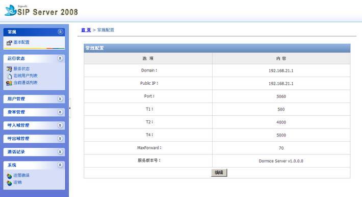SIP Server 2008