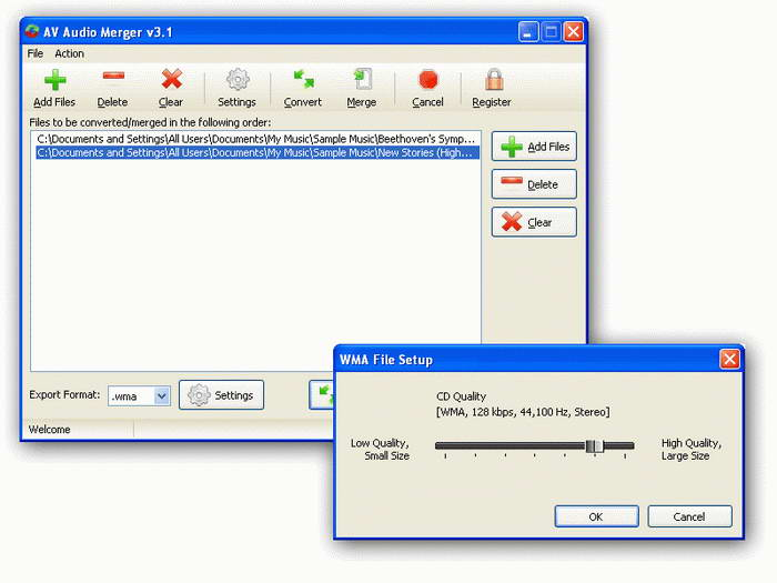 AV Audio Merger