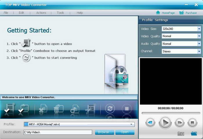 TOP MKV Video Converter