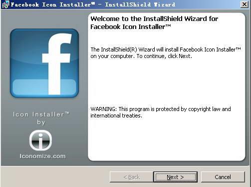 Facebook Icon Installer