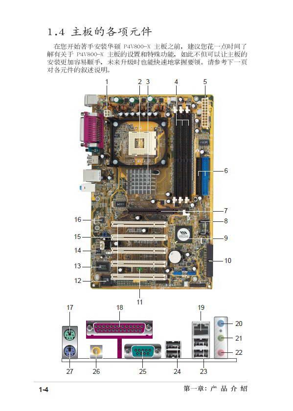 华硕p4v800-x主板使用说明书