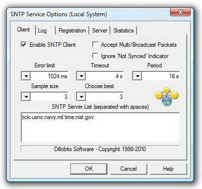 SNTP Service(64bit)