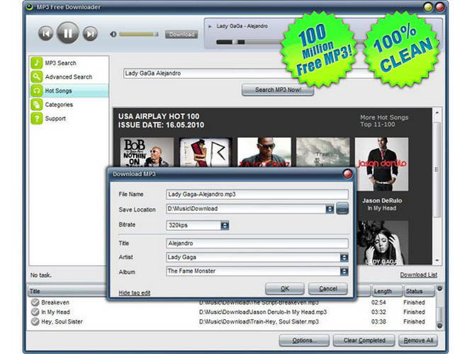 MP3 Free Downloader