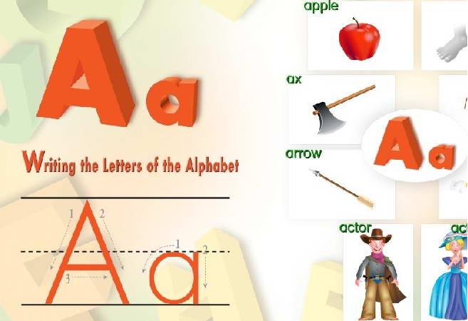 读写玩26字母学英语