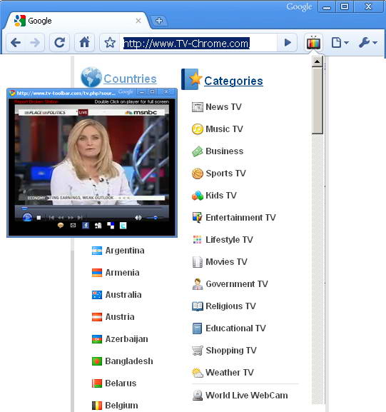 TV Chrome