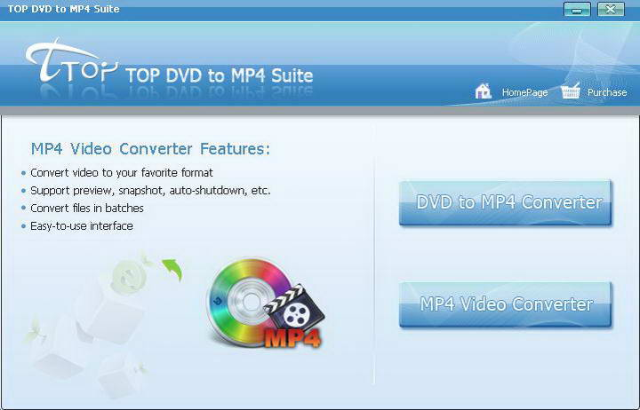 TOP DVD To MP4 Suite