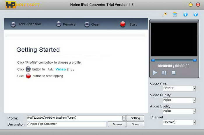 Holeesoft iPod converter