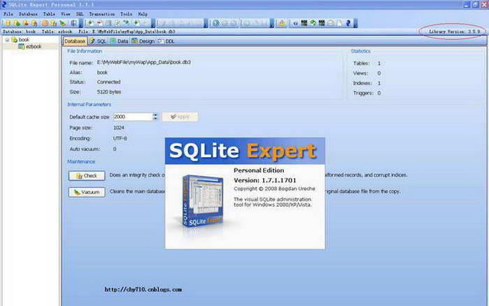SQLite Expert Personal