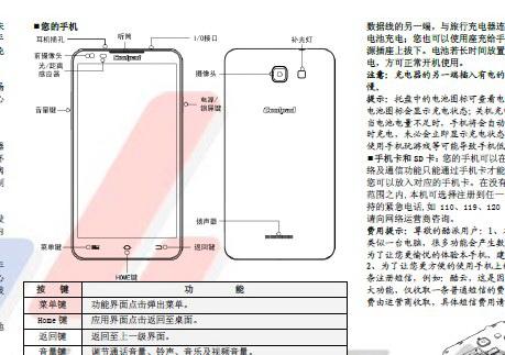 酷派Coolpad 7296手机说明书