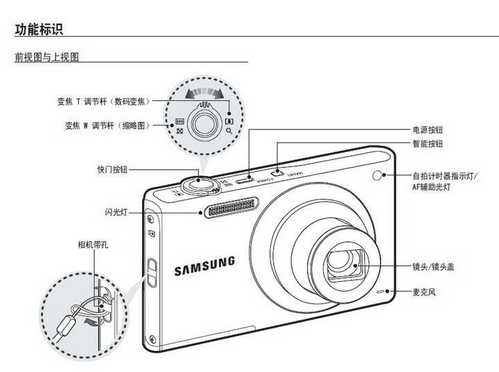 三星ST60数码相机使用说明书