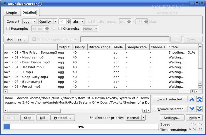 soundKonverter For Linux