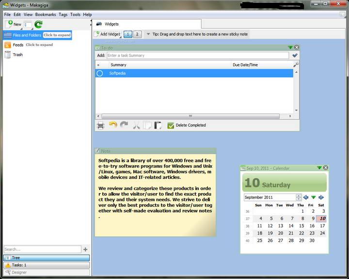 Makagiga For Linux