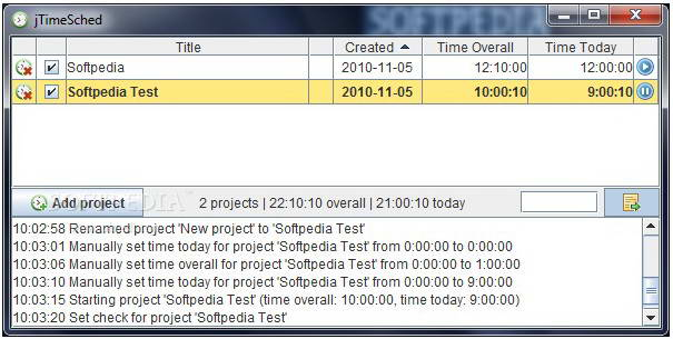 jTimeSched For Linux