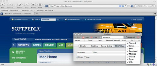 HttpFox For Linux