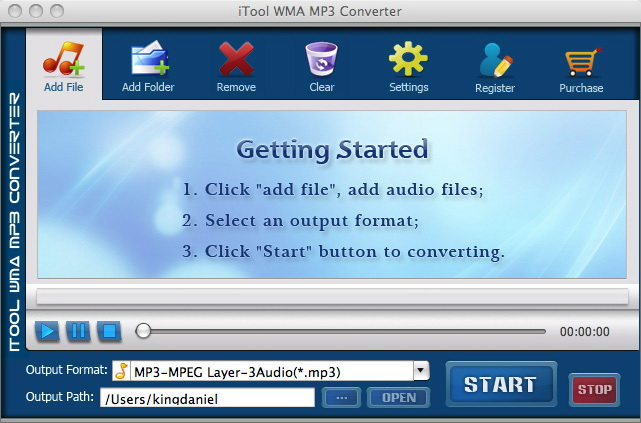 iTool WMA MP3 Converter for MAC