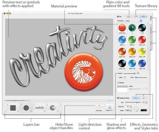 Art Text For Mac