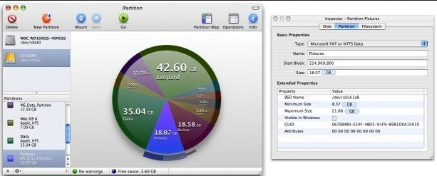 iPartition for MAC