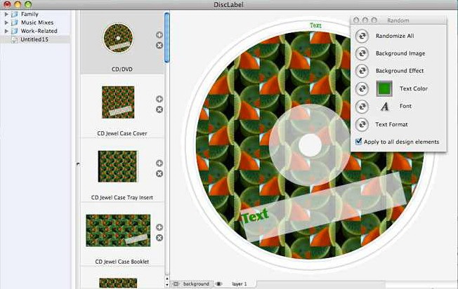 DiscLabel for MAC