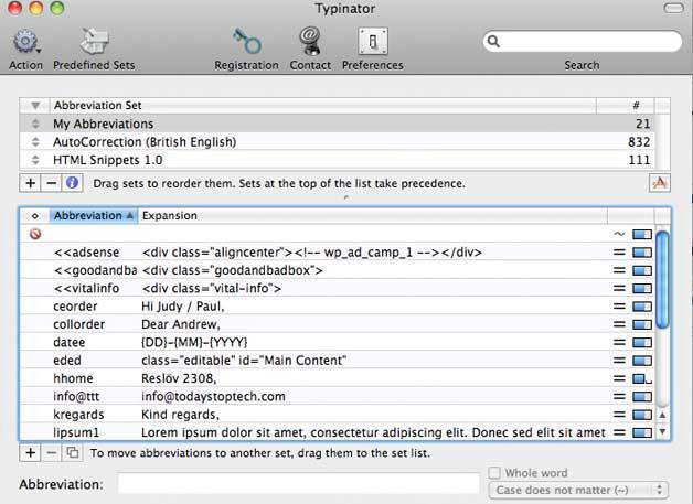 Typinator For Mac