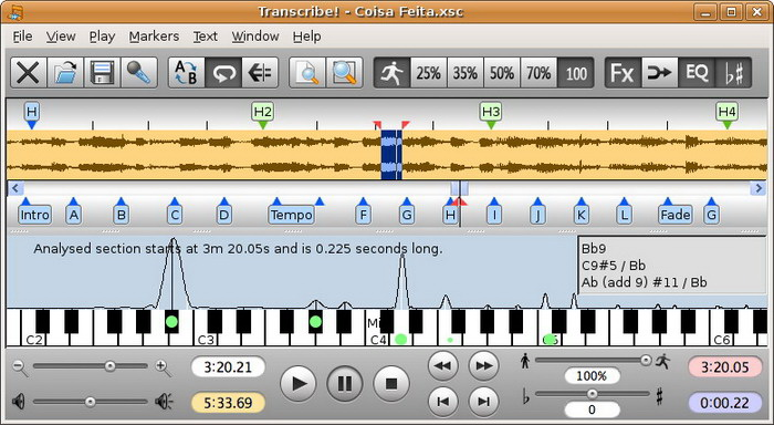 Transcribe! For Linux(64bit)