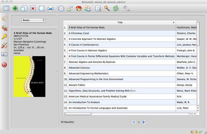 BiblioteQ For Mac