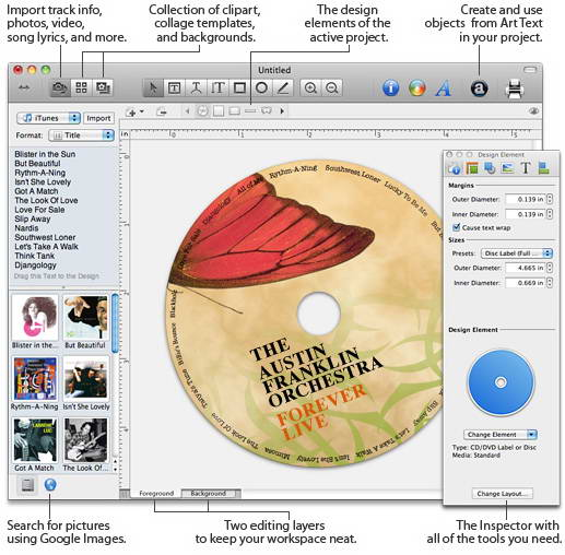 Disc Cover For Mac