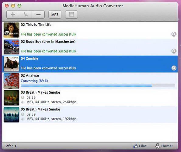 MediaHuman Audio Converter For Mac