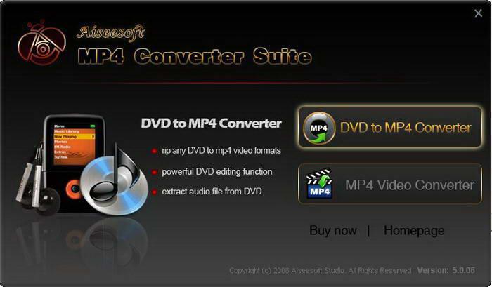 Aiseesoft MP4 Converter for Mac