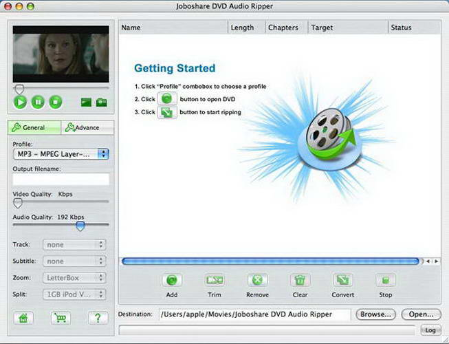 Joboshare DVD Audio Ripper Bundle For Mac