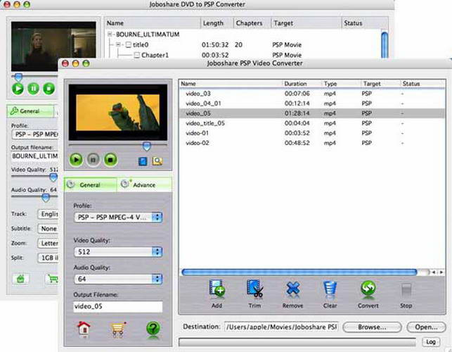 Joboshare DVD to PSP Bundle for Mac
