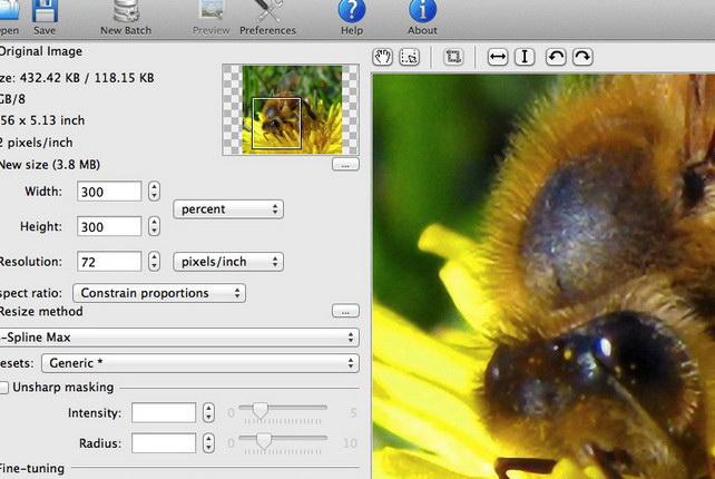 PhotoZoom Pro For Mac截图1