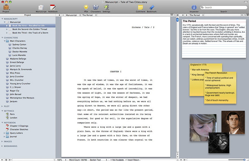 Storyist For Mac