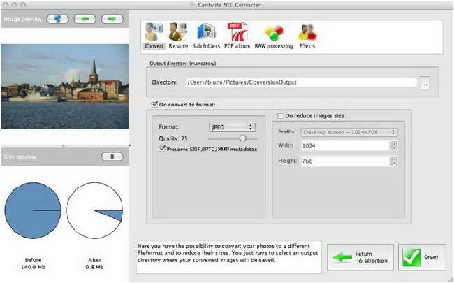 Contenta NEF Converter For Mac