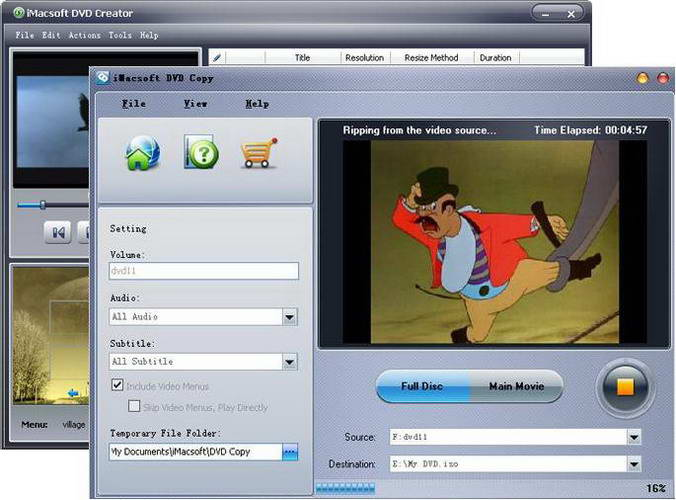 iMacsoft DVD Maker Suite For Mac