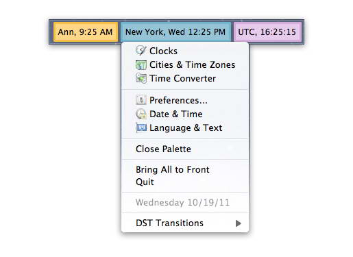 World Clock Deluxe For Mac
