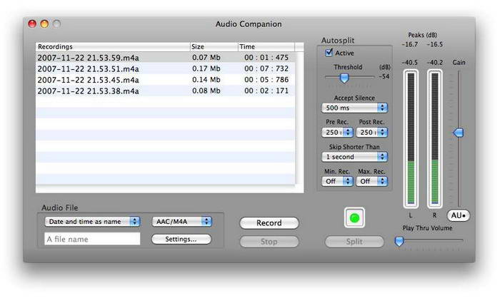 Audio Companion For Mac