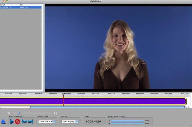 DVDxDV Pro For Mac