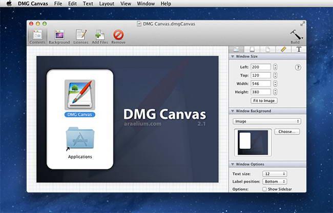 DMG Canvas For Mac