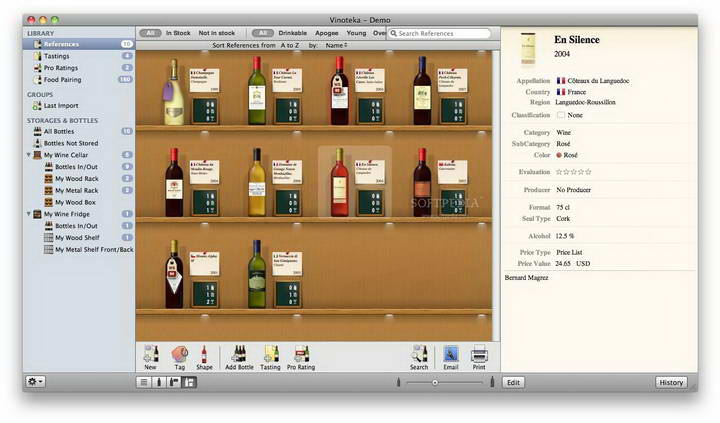 Vinoteka For Mac