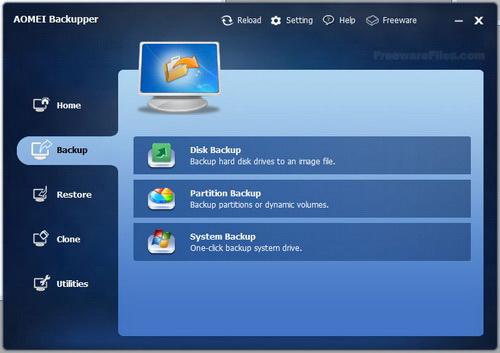 AOMEI Backupper Standard For Win7