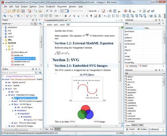 oXygen XML Author For Mac