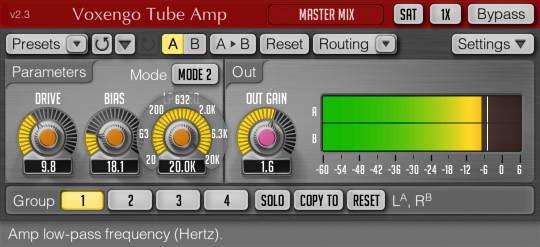 Voxengo Tube Amp(Unit) For Mac