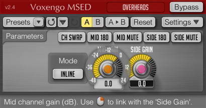 Voxengo MSED(VST) For Mac