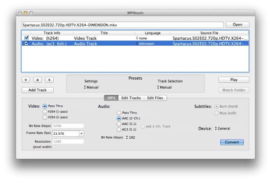 MKVtools For Mac