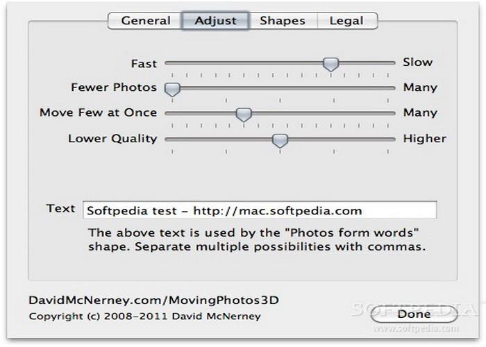 MovingPhotos3D For Mac
